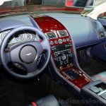 Aston Martin V12 Vantage S Roadster dash at the 2014 Paris Motor Show