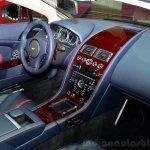 Aston Martin V12 Vantage S Roadster interior at the 2014 Paris Motor Show