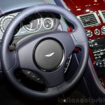 Aston Martin V12 Vantage S Roadster steering wheel at the 2014 Paris Motor Show