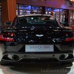 Aston Martin Vanquish Carbon Edition rear at the 2014 Paris Motor Show