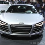 Audi R8 Competition front at the 2014 Los Angeles Auto Show