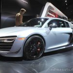 Audi R8 Competition front three quarters right at the 2014 Los Angeles Auto Show