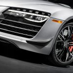 Audi R8 Competition headlight