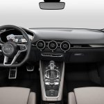 Audi TT Sportback concept dashboard press shot