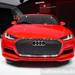 Audi TT Sportback concept front fascia at the 2014 Paris Motor Show