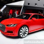 Audi TT Sportback concept front three quarters right at the 2014 Paris Motor Show
