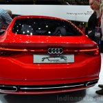 Audi TT Sportback concept rear at the 2014 Paris Motor Show
