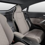 Audi TT Sportback concept rear seats press shot