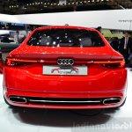 Audi TT Sportback concept right at the 2014 Paris Motor Show