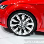 Audi TT Sportback concept wheel at the 2014 Paris Motor Show