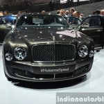Bentley Mulsanne Speed front at the 2014 Paris Motor Show