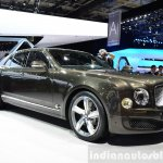 Bentley Mulsanne Speed front three quarters angle