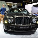 Bentley Mulsanne Speed front view