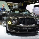 Bentley Mulsanne Speed headlamp and grille