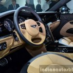 Bentley Mulsanne Speed interior at the 2014 Paris Motor Show