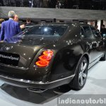 Bentley Mulsanne Speed rear quarter at the 2014 Paris Motor Show
