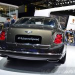 Bentley Mulsanne Speed rear view