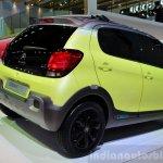 Citroen C1 Urban Ride concept rear three quarters at the 2014 Paris Motor Show