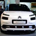 Citroen Cactus Airflow 2L Concept front at the 2014 Paris Motor Show