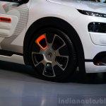 Citroen Cactus Airflow 2L Concept wheel at the 2014 Paris Motor Show