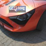 DC Avanti orange spied headlamps