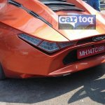 DC Avanti orange spied taillight