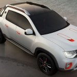 Renault Duster Oroch Concept press shot