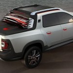 Renault Duster Oroch Concept rear press shot