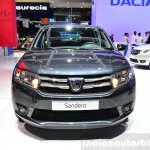 Dacia Sandero Black Touch front at the 2014 Paris Motor Show