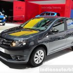 Dacia Sandero Black Touch front three quarters at the 2014 Paris Motor Show