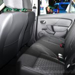 Dacia Sandero Black Touch rear seat at the 2014 Paris Motor Show
