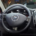 Dacia Sandero Black Touch steering wheel at the 2014 Paris Motor Show