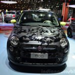 Fiat 500 Camouflage Edition front at the 2014 Paris Motor Show