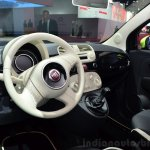 Fiat 500 Camouflage Edition interior at the 2014 Paris Motor Show
