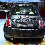 Fiat 500 Camouflage Edition rear at the 2014 Paris Motor Show