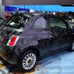 Fiat 500 Camouflage Edition rear three quarter at the 2014 Paris Motor Show