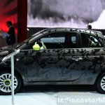 Fiat 500 Camouflage Edition side at the 2014 Paris Motor Show