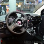 Fiat 500 Comics Edition interior at the 2014 Paris Motor Show