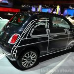 Fiat 500 Rod Arad Edition rear three quarter at the 2014 Paris Motor Show