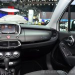 Fiat 500X dashboard right at the 2014 Paris Motor Show