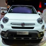 Fiat 500X front at the 2014 Paris Motor Show