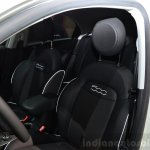 Fiat 500X front seat at the 2014 Paris Motor Show