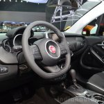 Fiat 500X interior at the 2014 Paris Motor Show