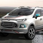 Ford EcoSport Beast Concept at the 2014 Sao Paulo Motor Show press image