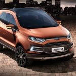 Ford EcoSport Beauty Concept at the 2014 Sao Paulo Motor Show press image
