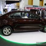 Geely Emgrand7 side at the 2014 Colombo Motor Show Sri Lanka