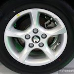 Geely Emgrand7 wheel at the 2014 Colombo Motor Show Sri Lanka