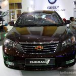 Geely Emgrand7 front at the 2014 Colombo Motor Show Sri Lanka