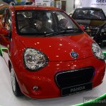 Geely Panda front three quarter at the 2014 Colombo Motor Show Sri Lanka