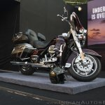 Harley Davidson CVO Limited fornt three quarter